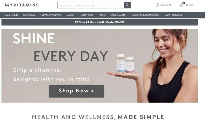 wellness marketing - purpose led strategy - myvitamins example
