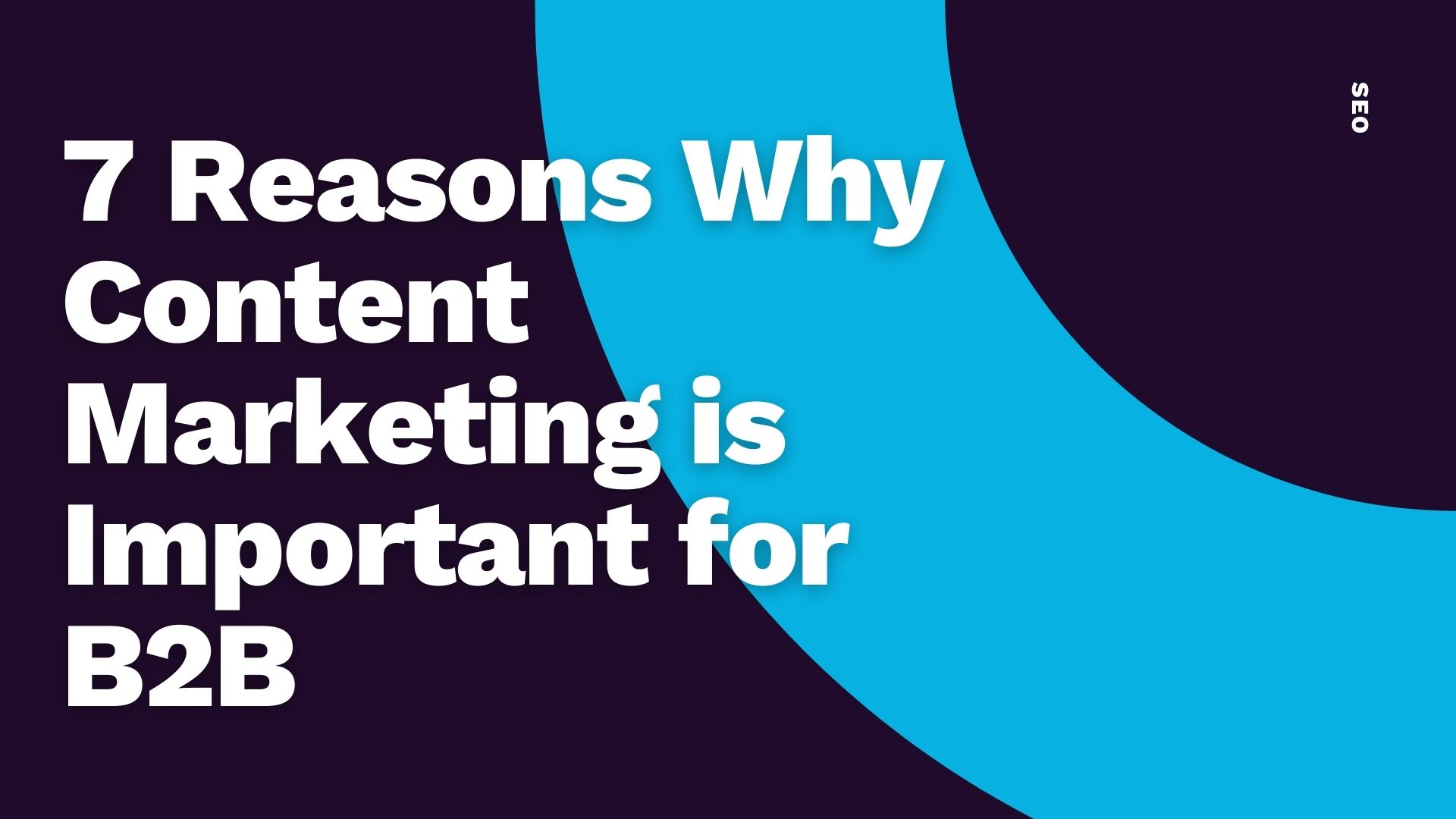 Common Ground - 7 reasons why content marketing is important for b2b